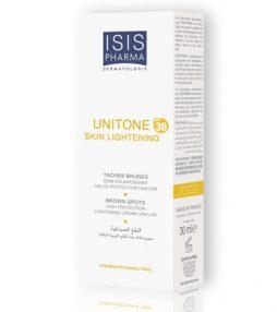 isis pharma product Unitone Skin Lightening SPF 30